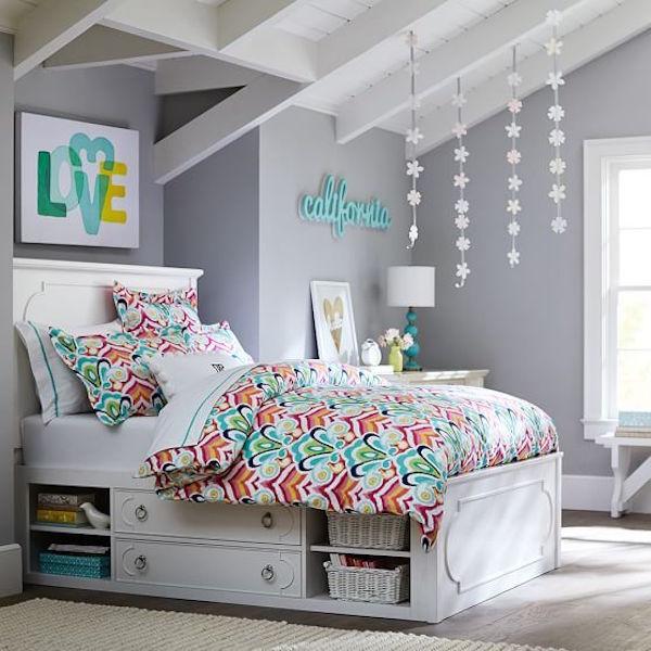 Spring bedroom teenager ideas