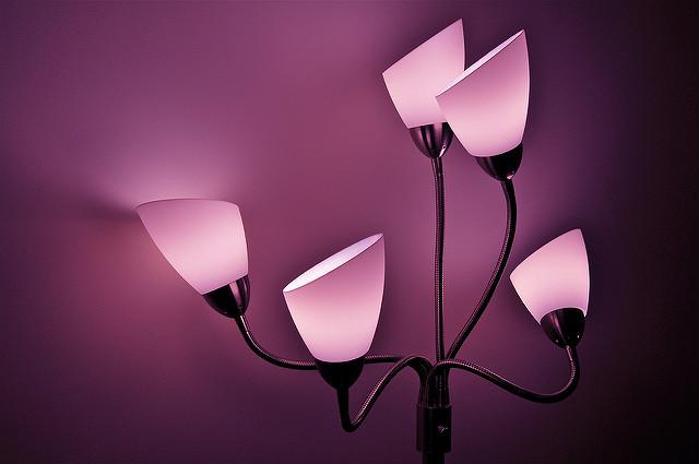 Use a Pink Light Bulb