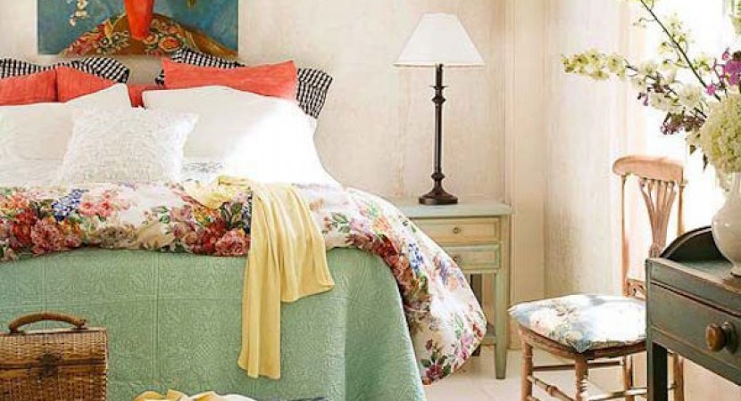 Spring bedroom decorating ideas to rid the winter blues - Winter bedroom decor ...