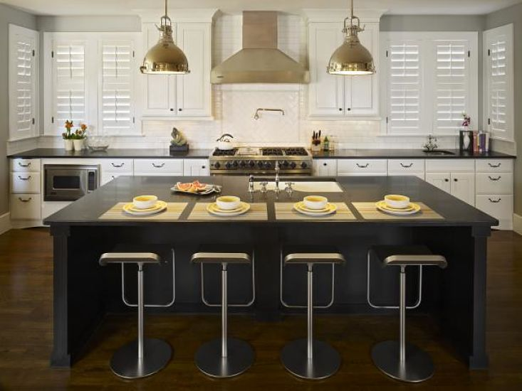 Black & White Kitchen Ideas_opt