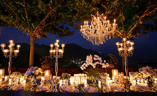 Garden Wedding Lighting Ideas