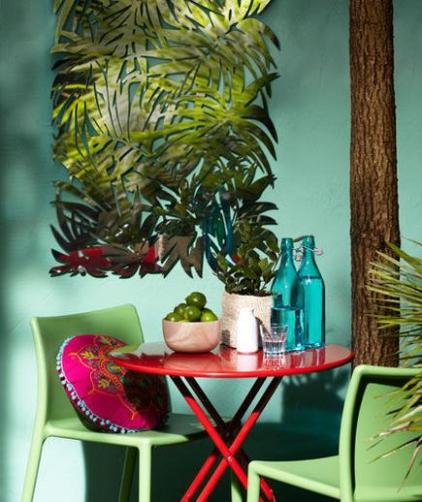 Tropical Style Patio