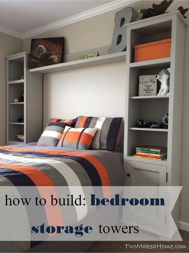 How to Build Bedroom Storage Towers By Two Make a Home & 4 Great Pinterest Ideas for a Teen Bedroom u2013 Home Design Key