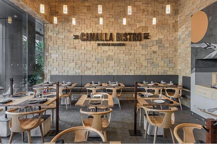 minimalistic furniture - Restaurant Design Ideas
