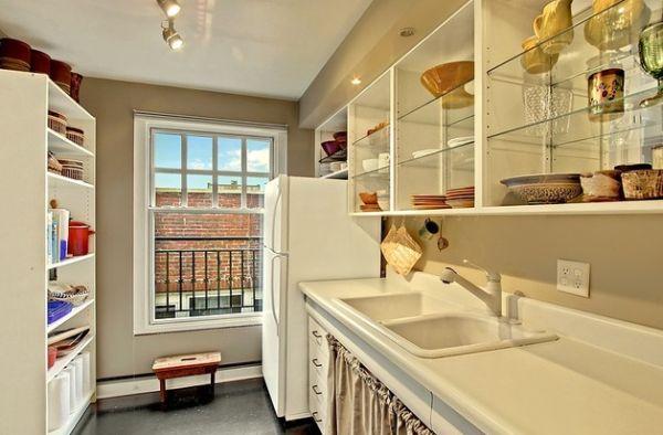 Smart glass cabinets