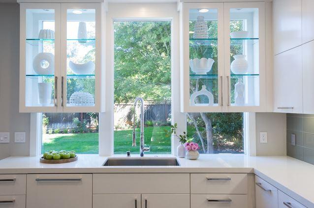 Window Glass Cabinets