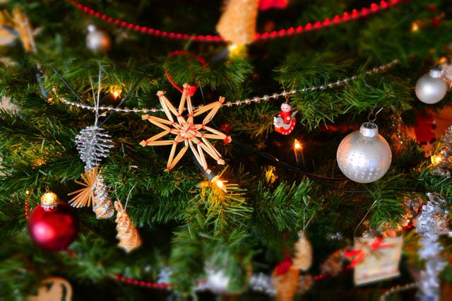 christmas decoration hanging