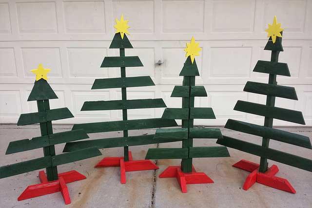 pellet christmas tree